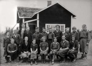 Göran Gustafssons skolklass